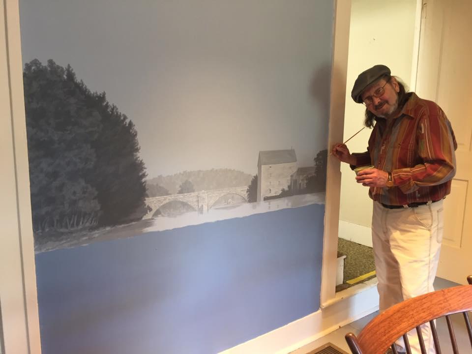 Artist Jim Walch, Artist David Williams